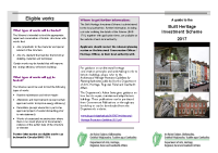 Public Information Leaflet front page preview